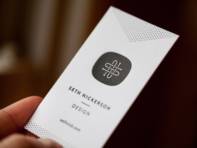 Personal Business Cards - Seth Nickerson